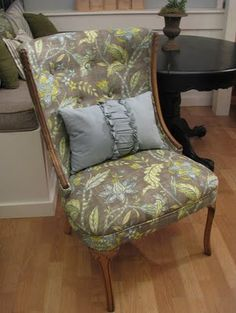 How to upholster a chair!
