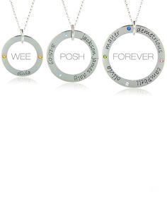 Wee, Posh & Forever loops #poshmommy