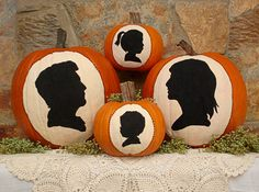 Creative No-Carve Pumpkin Decorating Ideas --> http://www.hgtvgardens.com/decorating/pumpkin-decorating-ideas-no-carve-options?s=2&soc=pinterest