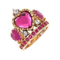 Betsy Johnson Crown Ring...nordstrom