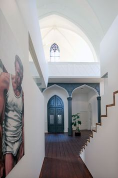 Church conversion into a residence in Utrecht by Zecc #loft #amazing #interior