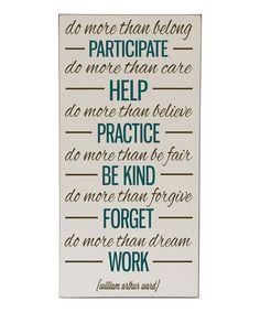 Do More Than