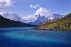 National Park Torres del Paine, Chile   •   Torres del Paine is certainly one of the most beautiful places on earth. The reasons for that are the climate, rough but mild, the incredible variety of the landscape, the mountains and the wonderful blue water, and, the most important point: still only few tourists.  Photo by Dieter Temps.