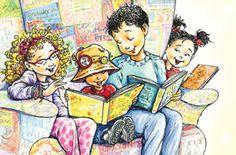 Robin Preiss Glasser for Children's Book Week Poster