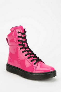 Doc Martens Patent Platform Sneaker-Boot