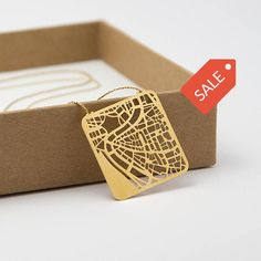Rome Map Necklace Go