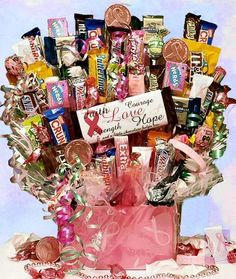 Candy Raffle Basket