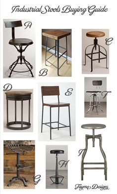 Industrial Stools Buying Guide | Jayme Designs