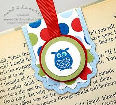 Stampin' Up!  Two Tags die  Magnetic Bookmark