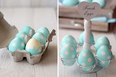 Polka Dot Easter Eggs   40 Creative Easter Eggs