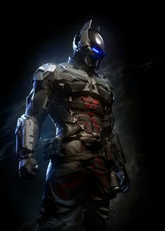 Design of new villain for the new Arkham Knight video game.