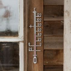 Zinc Thermometer in Outdoor Living GARDEN DÉCOR Hardware at Terrain