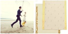 Nothing is more romantic than a rainy season. Declare your love in the rain and make your D-Day unforgettable. Check this themed #WeddingCard: http://scrollweddinginvitations.com/2408.html