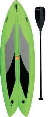 Have a great time on the water with Lifetime's Freestyle Stand-Up Paddleboard.