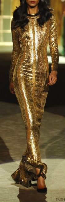 Sequin maxi dress. as sleek as a mermaid (and bought myself one today)    Roberto Cavalli