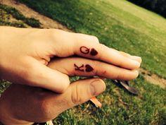 His n hers tattoos