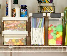Organize Your Craft Supplies