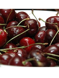 Love cherries. When I was little my dad was stationed in Germany and we live off base. Our german neighbor had some cherry trees in his yard and would let us take some right off the tree.