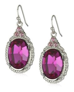 1928 Jewelry Victorian Fuchsia Rose Colored Gem Oval Drop Earrings 1928 Jewelry, http://www.amazon.com/dp/B0017L8MZG/ref=cm_sw_r_pi_dp_2Un2qb1EXHYJ9