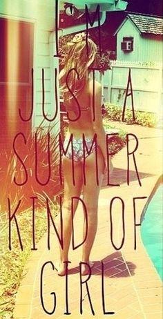 Summer girl!