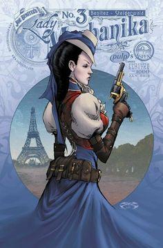 Lady Mechanika cover by joe benitez