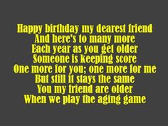 friend birthday, birthday messag, happi birthday, birthday poem