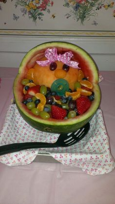 baby shower fruit bowl baby shower pinterest