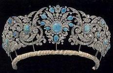 Teck Turquoise Tiara