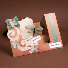 Create stunning 3-D Step Cards with ease using AccuCut dies. See more at www.accucutcraft.com