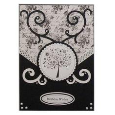 Handmade Chic Tree Birthday Card £2.50