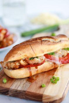 Teriyaki Chicken Sub Sandwiches