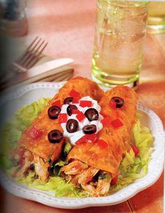 Mom's Chicken Enchiladas Recipe from Eating for Life - Bill Phillips