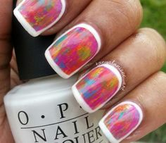 Spring Collage Nails by Tonyalaniece_art using OPI