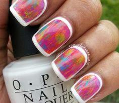 Spring Collage Nails by Tonyalaniece_art using OPI