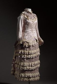 Girl's Dress - 1881 - The Los Angeles County Museum of Art
