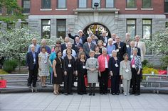 Reunion 2012:  Class of of 1962 (with Tom Dolan back, center) in front of Jonas Clark Hall.  https://clarkconnect.clarku.edu/JCTwitter