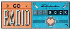 Proposed concept for pop/rockers Go Radio, unused.