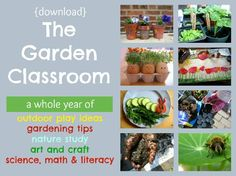 the garden classroom: a whole year of nature play ideas
