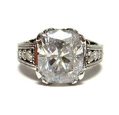 vintage 6 carat ring....wowza!