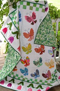 Cute girls quilt.