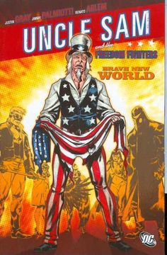 UNCLE SAM FREEDOM FIGHTERS BRAVE NEW WORLD