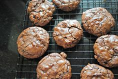 6-Ingredient, Outrageous Flourless Chocolate Brownie Cookies