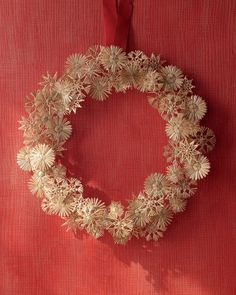 Holiday Crafts From Around the World. Try one of six holiday craft projects from Martha Stewart. Our favorite is this modernized Eastern European Straw Star Wreath.