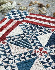 I love a patriotic quilt
