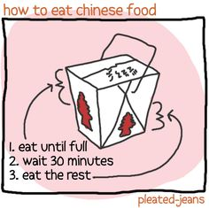 How to eat different foods...