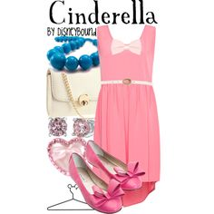 Cinderella, created by lalakay on Polyvore disney