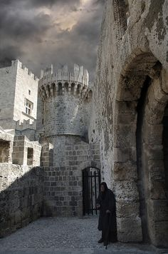 The old city of Rhodes - Greece