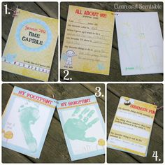 Clean & Scentsible: Summer Time Capsule {FREE printables}