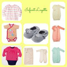 baby layette, organic baby clothes, newborn essentials