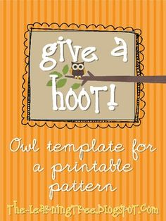 Give a HOOT! Earth D